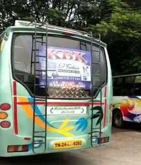 andhra and tamilnadu officers seized buses