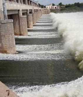 TAMILNADU ERODE DISTRICT BHAVANI SHAKAR DAM WATER LEVEL RAISED