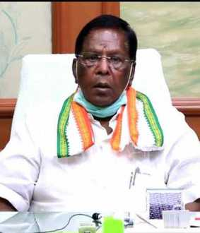 """Wearing a face mask reduces corona infection by 60 percent"" - Narayanasamy interview!"