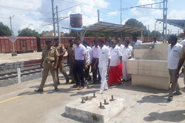 railway station inspection