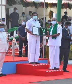 INDIA 72 REPUBLIC DAY CELEBRATION IN CHENNAI CM AND GOVERNOR