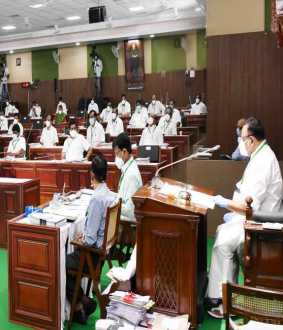 tamilnadu assembly session deputy cm paneer selvam