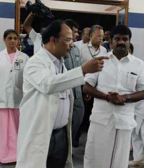 tamilnadu minister vijaya baskar thanks to peoples
