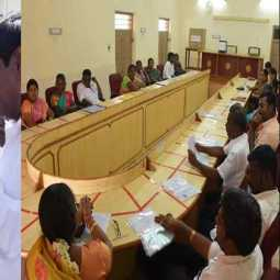 Kovilpatti Chairmanelection  postponted... Councilors fasting