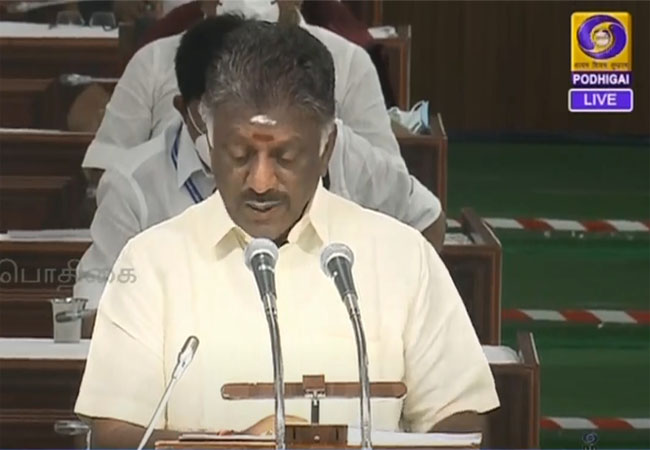 tn assembly interim budget 2021