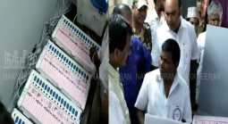 One-and-a-half hours polling stopped in pallapatti