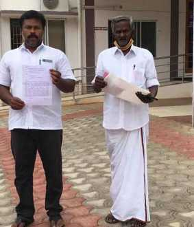 Saravanakumar complained We have to stop the counting of votes and take action