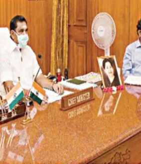Chief Minister Edappadi consults with the Prime Minister