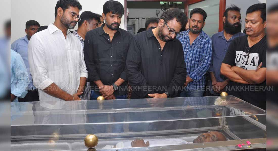 Cinematic celebrities paying homage to Director mahendran