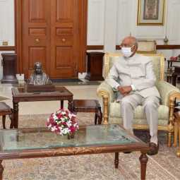 pm narendra modi meet with presidents ram nath kovind