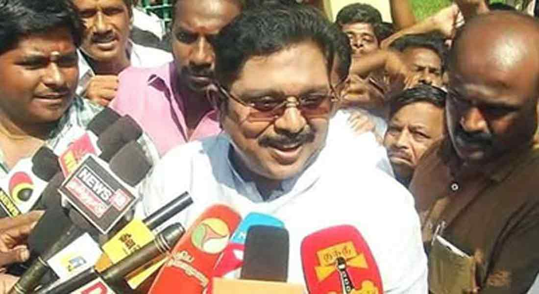 Don't want to confuse people ... TTV Dinakaran Interview!