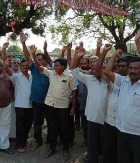 Trichy, Karur Transport workers strike