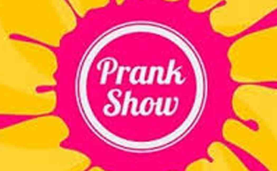 Prank show make people irritate