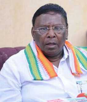 100 crore relief needed- Puducherry Chief Minister Narayanasamy's request to the Central Government!
