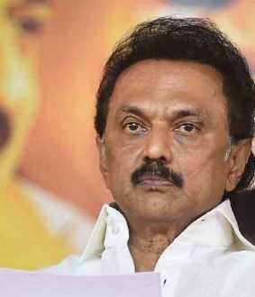 """This happened during the election led by Anna"" - MK Stalin"