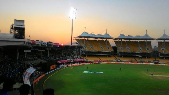 India-West Indies match in Chepauk