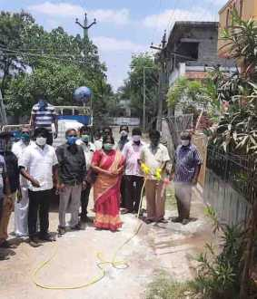 chidambaram near areas  Disinfectant spray