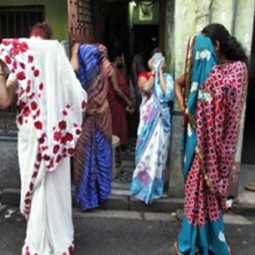 west bengal state kolkata  beauty parlours raid police