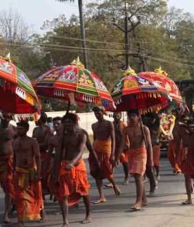 palani thaipusam festival salem district edappadi peoples