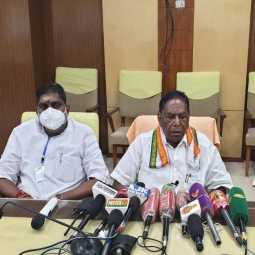 puducherry new year celebration peoples cm announced