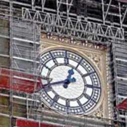 budget for big ben clock renovation