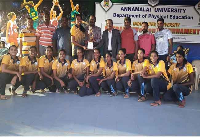 universities  basket ball annamalai university champion
