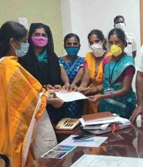 ASHA Employees Petition for Job Security