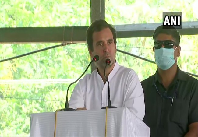 punjab district farmers and congress party leader rahul gandhi speech