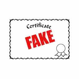 Dismissal of a person who got a government job by giving fake certificate ...