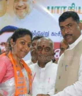 Veerappan's daughter joins BJP