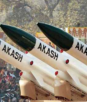 union defence high commission decide in aakash missile attached in indian airforce
