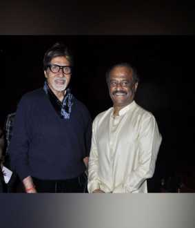 bollywood actor amitabh bachchan telephone conversation actor rajini