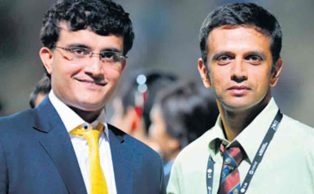ganguly about bcci and rahul dravid notice