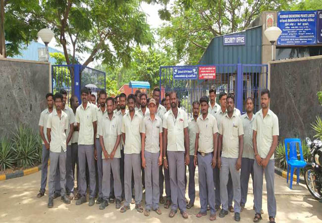 economic crisis employees filter in vellore private auto motive spare parts manufacturing company announced