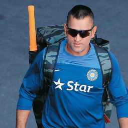 dhoni rested for west indies cricket tournament