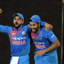 virat kohli about rohit sharma place in test squad