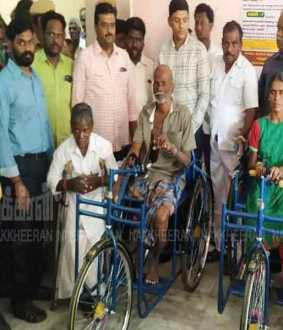 elderly, widowed women are Thank you to Nakkeeran