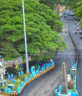 Kanyakumari Roads are getting ready to CM visit