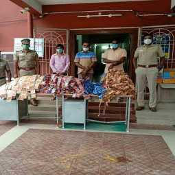 cuddalore district panruti police arrested five persons