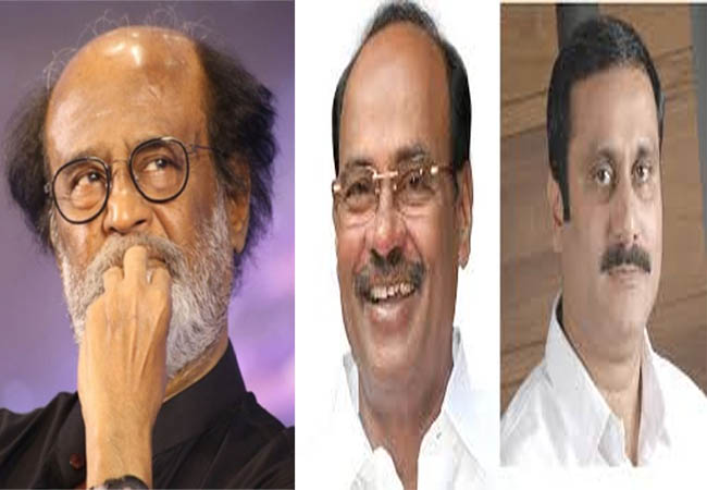 pmk ramadoss actor rajinikanth speech thuglak magazine function