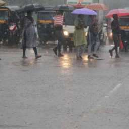 Heavy rain with lightning in next 24 hours - Warning for three districts!