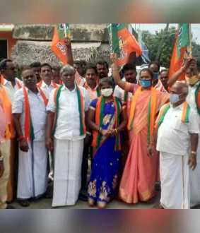 more then 300 bjp members arrested