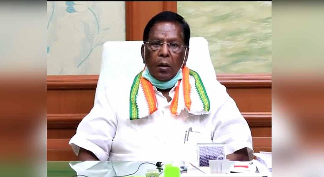 Puducherry bar not open now - Chief Minister Narayanasamy Interview