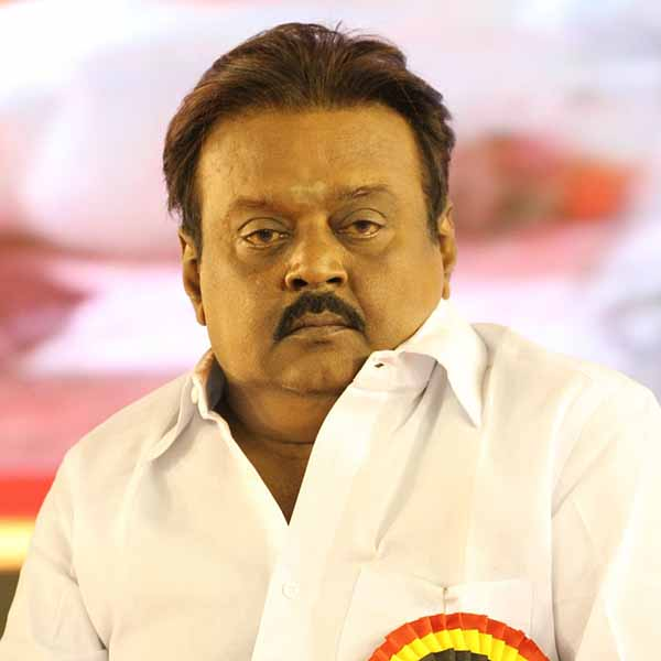 Vijayakanth is going to America for medical treatment