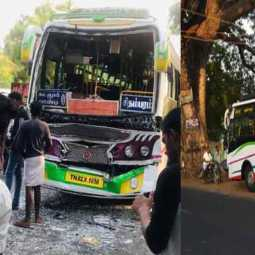 Frequent accidents cause Tanjore Kumbakonam road