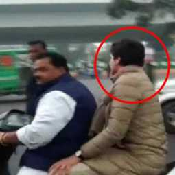 Priyanka Gandhi fined for not wearing helmet