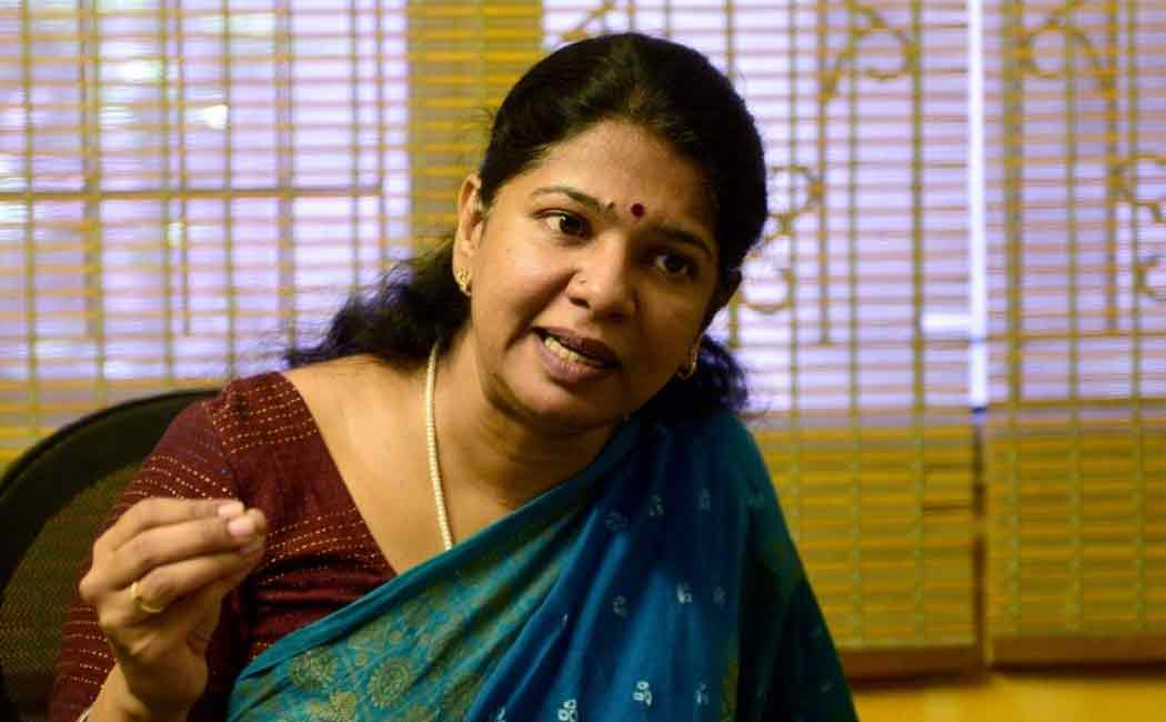 DMK Kanimozhi condemns the intimidation of Vijay Sethupathi's daughter.