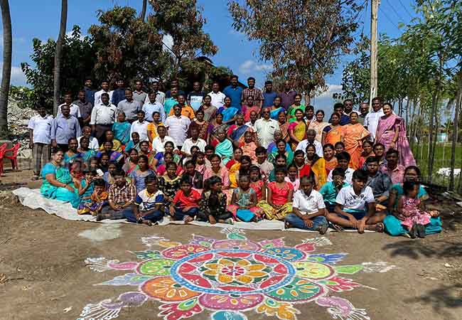 dharmapuri district family pongal celebration