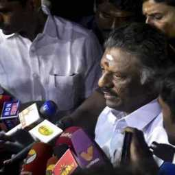 OPS denounces to Rajinikanth's speech