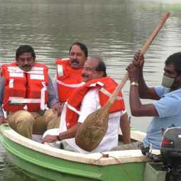 Ministers who rode the boat!